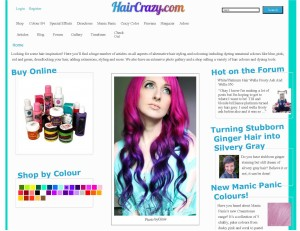 HairCrazy.com - Specialist in Hair Colour